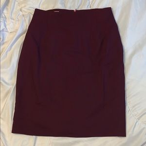 EUC Jones New York Maroon Dress Skirt